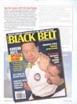 Article in Black Belt, October 2007